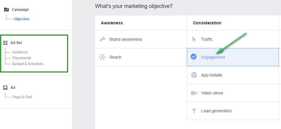 engagement-ads 6 kiến thức cần nắm vững trước khi tạo chiến dịch Facebook Ads đầu tiên Bài Viết về Marketing    Manage.vn