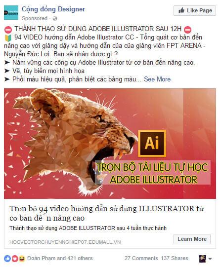 noi-dung-ads 6 kiến thức cần nắm vững trước khi tạo chiến dịch Facebook Ads đầu tiên Bài Viết về Marketing    Manage.vn